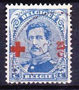 BELGIQUE 1918 YT N° 156 Obl. - 1918 Red Cross