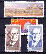 AFRIQUE DU SUD 1974-75 YT N° 379 à 382 ** - Afrique Du Sud (1961-...)