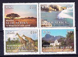 AFRIQUE DU SUD 1990 YT N° 721 à 724 ** - Afrique Du Sud (1961-...)