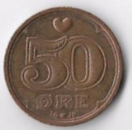 Denmark 1997 50 øre [C612/2D] - Denmark