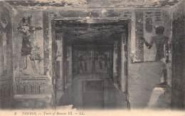 EGYPTE     THEBES   TOMB OF RAMSES III - Ägypten