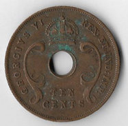 East Africa 1939H 10 Cents [C615/2D] - British Colony