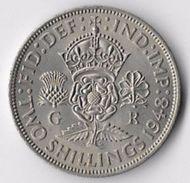United Kingdom 1948 2/- (2) [C618/2D] - 1902-1971 : Post-Victorian Coins