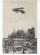 CPA Nos Aéroplanes L'aéroplane Farman Cathédrale De Reims Publicité Au Soulier D'Argent N° 6 LL. - ....-1914: Precursors