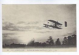 CPA Nos Aéroplanes Le Comte De Lambert Sur Wright à Juvisy Publicité Au Soulier D'Argent N° 86 LL. - ....-1914: Précurseurs