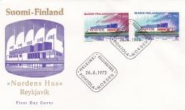 Finland 1973 FDC Norden  (DD4-49) - Finlande