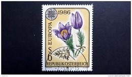 Österreich 1848 Oo/ET, EUROPA/&CEPT 1986, Große Küchenschelle (Pulsatilla Grandis) - 1981-90 Used