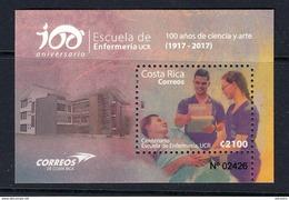 COSTA RICA 2017  CENTENARY OF THE NURSING SCHOOL OF THE UNIVERSITY OF COSTA RICA - Medicina