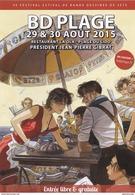 Programme GIBRAT Jean Pierre Festival BD Sète 2015 (Le Sursis) - Non Classificati
