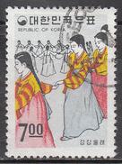 KOREA   SCOTT NO. 560    USED      YEAR  1967 - Corea Del Sud