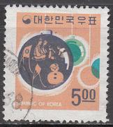 KOREA   SCOTT NO. 628     USED      YEAR  1968 - Korea, South
