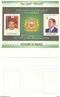 Timbres Maroc De 2013. Feuillet N° 43. Papier Fil De Soie - Morocco (1956-...)