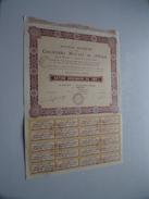 Chantiers Navals De L'Ouest ( Paris ) Action Ordinaire De 100 Fr. N° 026,365 - 1930 ( For Details See Photo ) !! - Actions & Titres