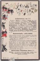 Bj - Cpa Militaria - Liberatus Es, Mademoiselle LACLASSE - Umoristiche