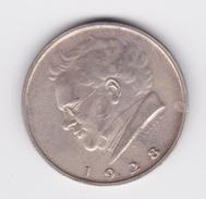 2 Shilling 1928 Franz Schubert TTB - Autriche