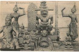 CPA N°12105 - YUNNAM - IDOLES BOUDDHIQUES EN BRONZE - RELIGION - Viêt-Nam