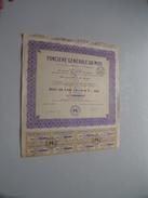 Foncière Générale Du Midi ( Nice ) Bon De 1.000 Francs 5 % 1932 - N° 001,608 ( For Details See Photo ) !! - Actions & Titres