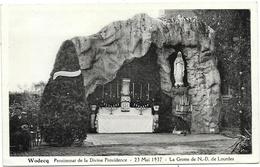 Wodecq NA3: Pensionnat De La Divine Providence. La Grotte De ND De Lourdes 1937 - Ellezelles