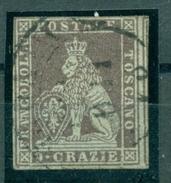Italien. Löwe / Toskana Nr. 8 Y Gestempelt - Toscana