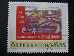 PM 8003315 Frankenburger Würfelspiel Gestempelt - Personalisierte Briefmarken