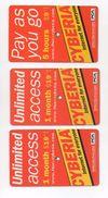 3 Used Internet Card Cyberia 2002 Lebanon , Liban Telecarte Libano - Lebanon