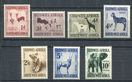 211 AFRIQUE SUD OUEST (SWA) 1954 - Yvert 237/48 Complet Animaux - Elephant Girafe ... - Neuf ** (MNH) Sans Charniere - Stamps