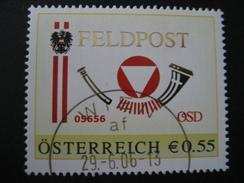 PM 8008247 Feldpost Gestempelt Wien - Personalisierte Briefmarken