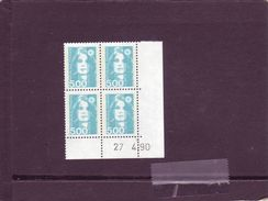 N° 2625 - 5F Marianne De BRIAT - 1° Tirage Du 20.4 Au 11.5.90 - 27.04.1990 - - 1990-1999
