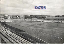 Football  Stadium Estadio Stade Calcio Sicilia Catania Veduta Stadio Comunale Allenamenti In Corso Anni 50 - Calcio