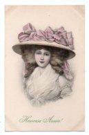 (Vienne) 085, MM Vienne, Nr. 380, M. Munk, Heureuse Année, Femme Au Chapeau - Vienne