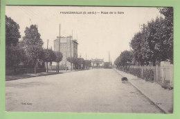 FRANCONVILLE : Place De La Gare. Peu Courant. 2 Scans. Edition Cany - Franconville