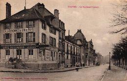 TROYES -10- LE BOULEVARD CARNOT - CAFE RESTAURANT LEDOUX - Troyes