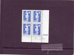 N° 2623 - 3,20F Marianne De BRIAT - 1° Tirage Du 22.2 Au 1.3.90 - 9.03.1990 - 25.02.1990 - - 1990-1999