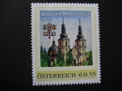 Personalisierte Marke Postfrisch, Graz Basilika Maria Trost - Österreich