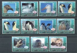 211 ROSS (Nle Zelande) 1994 - Yvert 27/37  - Arctique Manchot Phoque Oiseau - Neuf ** (MNH) Sans Charniere - Neufs