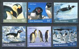 211 ROSS (Nle Zelande) 2001 - Yvert 78/83  - Arctique Manchor Empereur - Neuf ** (MNH) Sans Charniere - Neufs