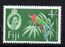 Sello Nº 166a Fiji - Birds