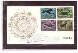 FDC4620   -   SAN MARINO   18.2.70   /   FDC   SEGNI DELLO ZODIACO - Astrologia