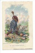17884 -  Fables De La Fontaine Le Loup Devenu Berger D'après Gustave Doré (trou D'épingle) - Illustrateurs & Photographes