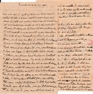 Juin1833 - AVIGNON (84) Lettre Adressée Au Comte Gabriel DESISNARD Hôtel Des Ambassadeurs à GRENOBLE (38) - Historische Documenten