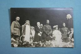 Carte Photo Roi Albert - Familles Royales