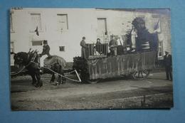 Carte Photo Fête Au Village 1830-1930 ? - Cartes Postales