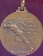 Médaille  Athlétisme(1967) - Belgique