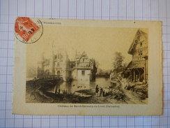 CPA - (14) - RARE - CHATEAU DE SAINT GERMAIN DE LIVET - C1909 - EDITION ARTISTIQUE SUPRA - R7001 - France