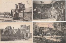 17 / 10  / 393  -  LOT  DE  10  CPA  DE  BAZEILLES  ( 08 -  MUSÉE  DE  LA  DERNIÈRE  CARTOUCHE - 5 - 99 Karten