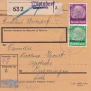 Recépissé De Paquet Poste (moselle) - Alsace-Lorraine