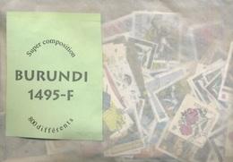 800 Différents Dont Beaucoup De Séries Complètes Ø - Burundi