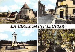 27-LA-CROIX-SAINT-LEUFROY -MULTIVUES - Frankreich
