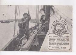 Cpa.Publicité.Usines Amieux Frères.1911.Conserves De Maqueraux - Advertising