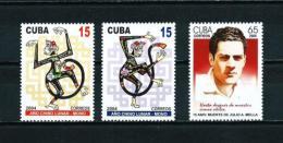 Cuba  Nº Yvert  4139/40-4141  En Nuevo - Unused Stamps